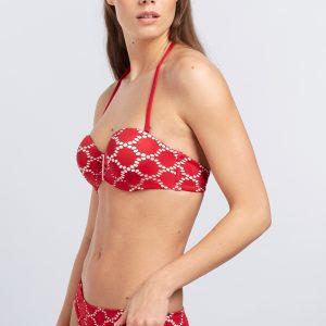 Bikini Gisela Bandeau Red